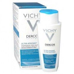 VICHY DERCOS Shampooing ULTRA APAISANT Tube de 200 ml
