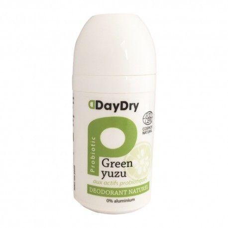 DAYDRY Déodorant Soin probiotique Fraicheur intense Roll on 50 ml