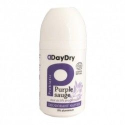 DAYDRY déodorant soin probiotique eau de sauge roll on de 50 ml