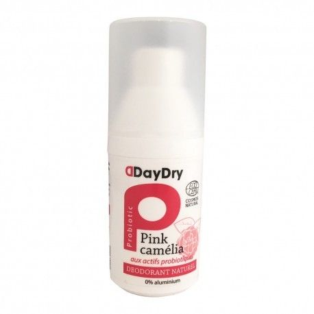 DAYDRY Déodorant Soin probiotique Huiles essentielles Spray de 50 ml
