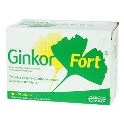 GINKOR Fort Gélules Boite de 60