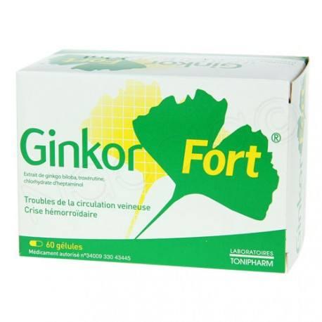 GINKOR Fort Gélules Boite de 60.