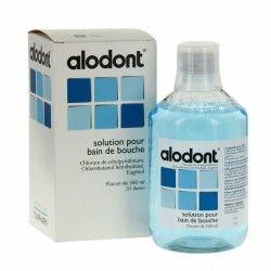 ALODONT Solution pour bain de bouche Flacon de 500ml + gobelet