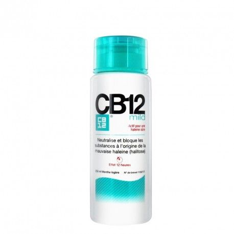 CB12 MILD Bain de bouche effet 12 heures Flacon de 250 ml
