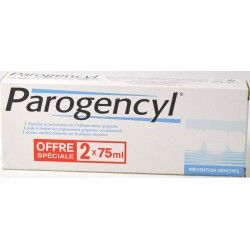 Parogencyl Prévention Gencives Lot de 2 x 75 ml