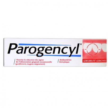 Parogencyl Sensibilité Gencives Tube de75 ml