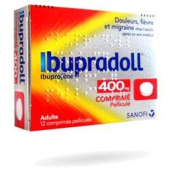 IBUPRADOLL 400 Mg Boite de 12 comprimés