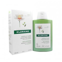 KLORANE CAPILLAIRE Shampooing Extrait Myrte Flacon de 200ml