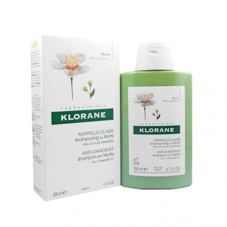 KLORANE CAPILL Shamp Extrait Myrte Fl/200ml