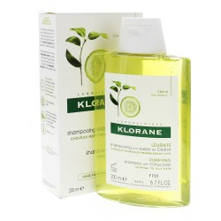 KLORANE CAPILLAIRE Shampooing Cédrat énergisant Flacon de 200ml