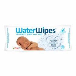 WATERWIPES Lingettes bébé sans actif chimique Paquet de 60 lingettes