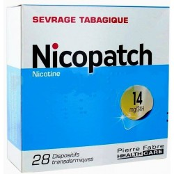 NICOPATCH 14mg/24h Dispositif transdermique Sachet de 28