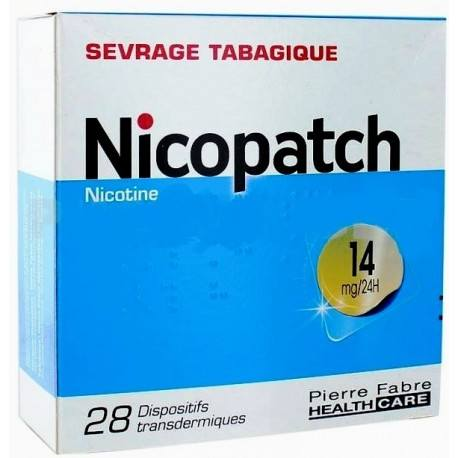 NICOPATCH 14mg/24h Disp tr Sach/7