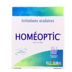 HOMEOPTIC Collyre 10 Unidoses de 0,4ml