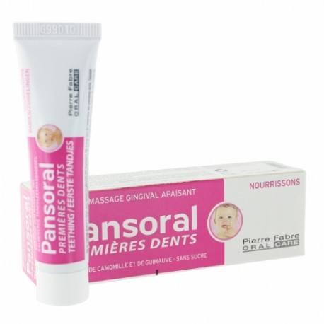PANSORAL Gel gingival 1eres dents Tube de 15ml