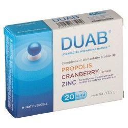 DUAB Complément alimentaire Boite de 20 gélules