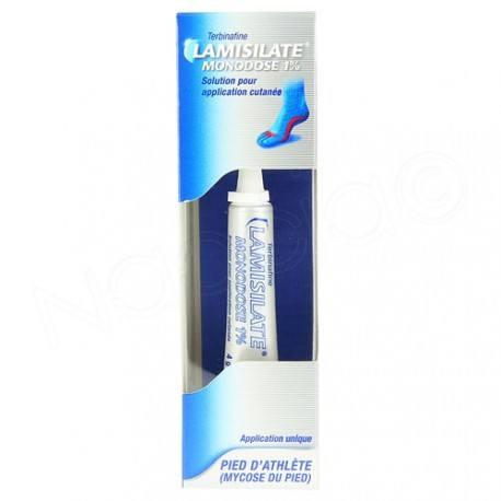 LAMISILATE MONODOSE 1% S a cut T/4g