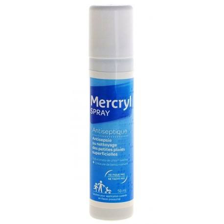 MERCRYL SPRAY Solutin antiseptique cutanée spray de 50ml
