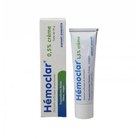 HEMOCLAR 0.5 % Crème tube de 30 grammes