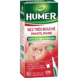 HUMER Nez très bouché,sinusite,rhume Spray de 15 ml