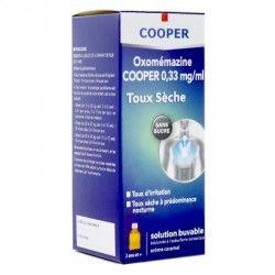 COOPER Oxomemazine Toux seche Flacon de 150 ml