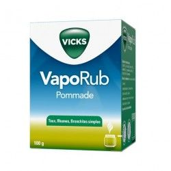 VICKS VAPORUB Pommade Pot de 100 grammes