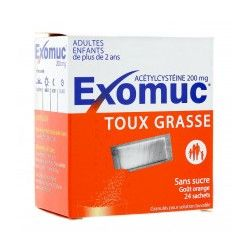 EXOMUC 20 mg Sachets buvable boite de 24