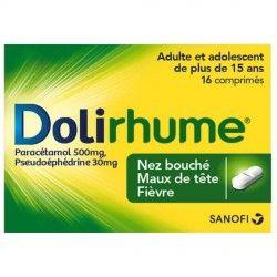 DOLIRHUME Comprimés Boite de 16