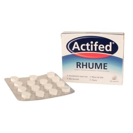 ACTIFED RHUME Cpr B/15