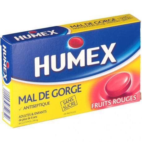 HUMEX MAL GOR FRU ROUG S SUC 20mg Past Plq/24