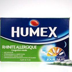 HUMEX RHINITE ALLERGIQUE Comprimés pelliculés Plaquette de 15+5