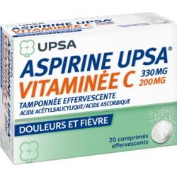 ASPIRINE UPSA VITAMINE C Cpr efsé 2T/10