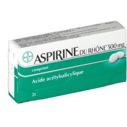 ASPIRINE Du rhône 500 mg Boite de 20 comprimés