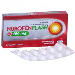 NUROFENFLASH 400mg Comprimés pelliculés Plaquette de 12