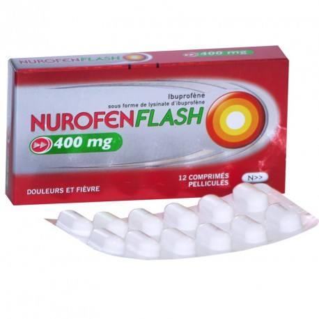 NUROFENFLASH 400mg Cpr pell Plq/12