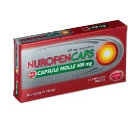 NUROFENCAPS 400mg Capsules molles Plaquette opaque de 10