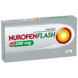 NUROFENFLASH 200mg Comprimés pelliculés Plaquette de 12