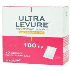 ULTRA-LEVURE 100mg Pdr subu 20Sach