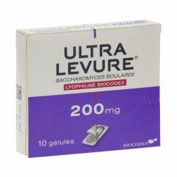 ULTRA-LEVURE 200mg Gélules Plaquette de 10