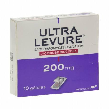 ULTRA-LEVURE 200mg Gél Plq/10