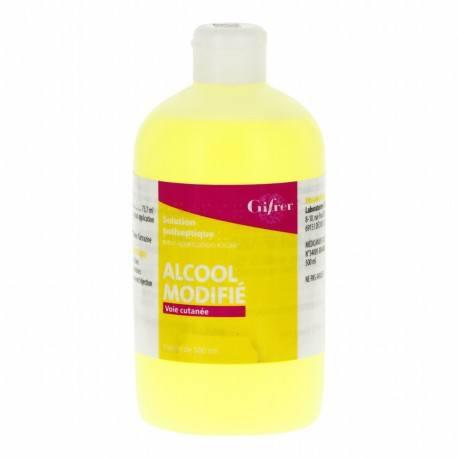 ALCOOL MODIFIE GIFRER 70° Solution pour application locale Flacon de 125 ml