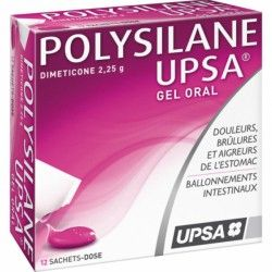 POLYSILANE UPSA Gel oral 12 Sachets-dose
