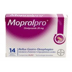 MOPRALPRO 20mg Cpr gast Film/14