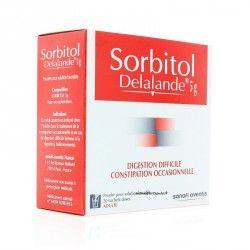 SORBITOL DELALANDE 5g Poudre pr solution buvable 20 sach/5g