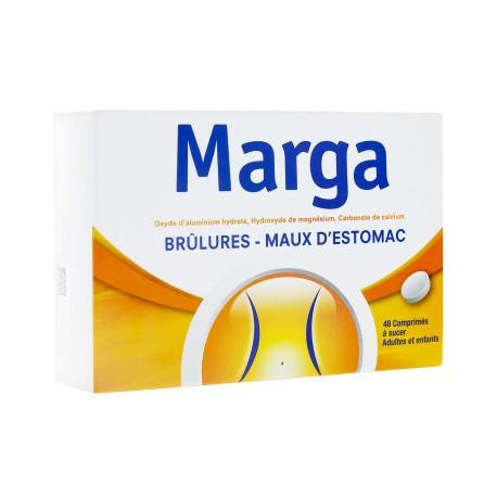 MARGA Comprimés à sucer Plaquette de 48