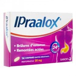 IPRAALOX 20mg Comprimés Gastro résistants Plq/14