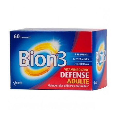 BION 3 DEFENSE Capsules pour Adultes Boite de 60