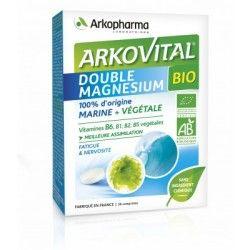 ARKOVITAL Double Magnésium BIO Boite de 30 comprimés
