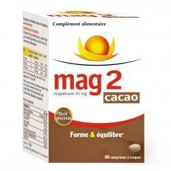 MAG 2 CACAO Forme et équilibre Boite de 60 comprimés à croquer