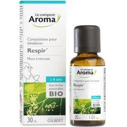 RESPIR Huile essentielle pour inhalation Spray de 30 ml